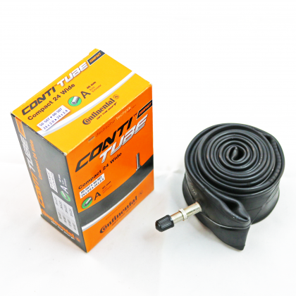 Continental Compact 24 (Wide) Inner Tube (Centre Metal Valve)